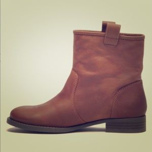 Sole Society Brown Leather Boots